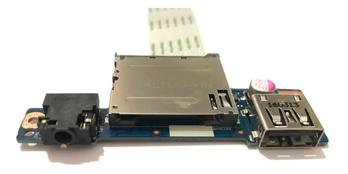Placa Usb Audio Leitor De Cartão Lenovo G40-30 G40-70 Ns-a27