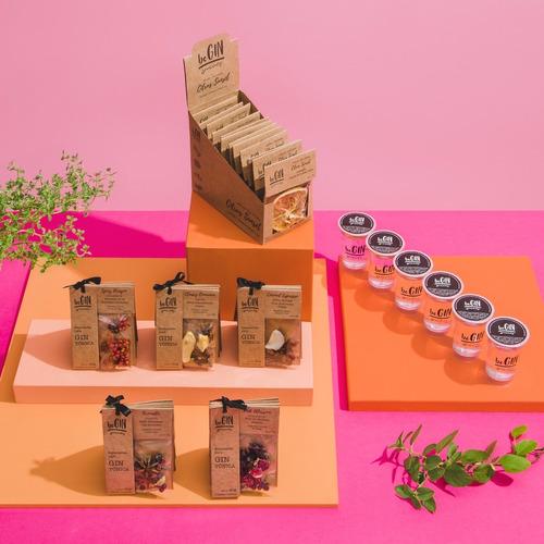 5 Kits De Especiarias  + 1 Box Citrus Sunset + 6 Doses Gin