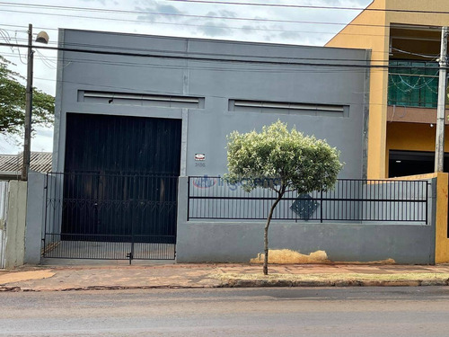 Barracão Para Alugar, 170 M² Por R$ 2.500,00/mês - Indusville - Londrina/pr - Ba0091
