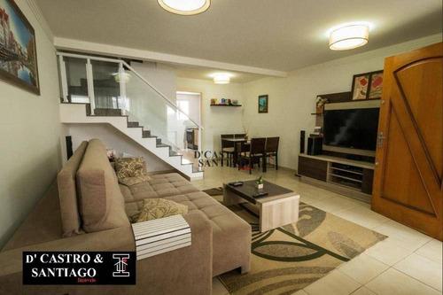Imagem 1 de 30 de Sobrado Com 3 Dormitórios À Venda, 120 M² Por R$ 850.000,00 - Mooca - São Paulo/sp - So0337