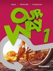 Coleção Our Way Volumes 1 2 3 4 Cd Rom Professor