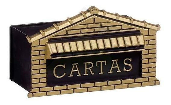 Caixa De Carta Correio P/portão Ou Muro Frente 25cm De 44,90