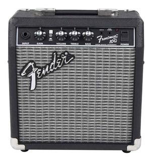 Amplificador Fender Frontman Series 10G Transistor 10W negro y plata 220V