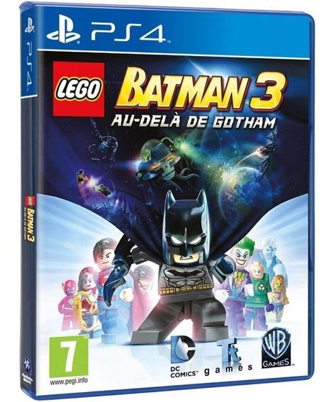 Jogo Lego Batman 3 Beyond Gotham Ps4 Disco Físico Dublado Br