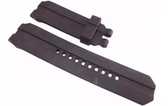Pulseira Oakley Uhr Stealth Gearbox Preta Sem Fecho
