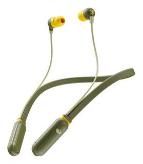 Auricular Bluetooth Skullcandy Inkd Color Olive/yellow