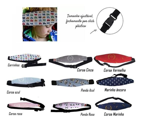 Faixa Soneca Ajustavel Segurança Para Cabeça De Bebê Carro