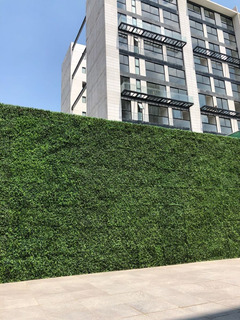 Muro Verde Follaje Planta Artificial Sintetico 60 X 40cms