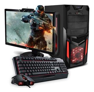 Pc Gamer Completa Cpu I7 8va 1tb 8gb Monitor 20 Nu*
