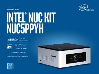 Mini Comptador Intel Nuc Pentium