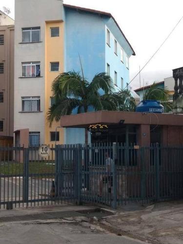 Imagem 1 de 18 de Apartamento Com 2 Dormitórios À Venda, 46 M² Por R$ 165.000,00 - Jardim Valéria - Guarulhos/sp - Ap0905