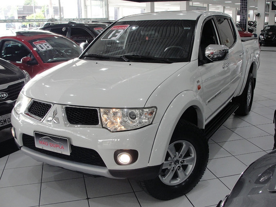 Mitsubishi L200 3.2 Triton Hpe C. Dupla 4x4 Aut. 2013 Diesel