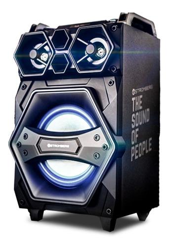 Imagen 1 de 9 de Parlante Stromberg Dj -4002 Mezcladora Dj Bluetooth