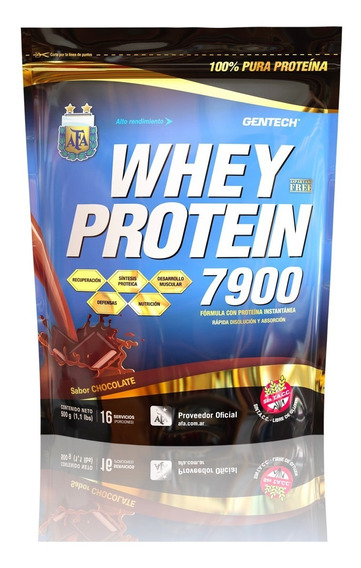 Whey Protein 7900 Gentech 1000 Grs Sin Tacc