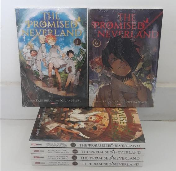 Mangá The Promised Neverland 1 Ao 6 - (170 R$ À Vista!)