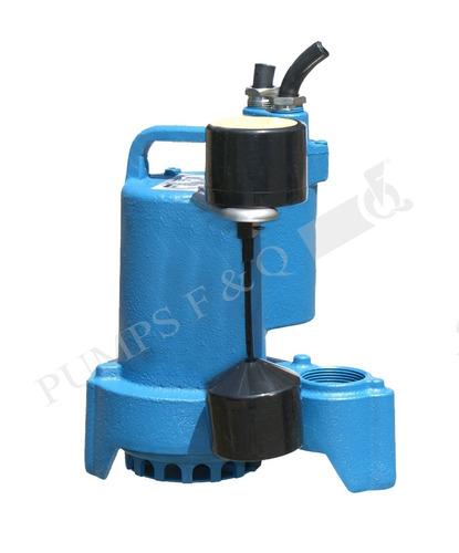 Imagen 1 de 2 de Bomba Sumergible Agua Limpia 1/2 Hp Cfq50