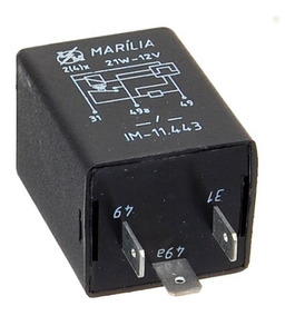 Rele Pisca 3 Pinos 12v Corcel 1968 A 1986 174