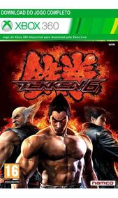 Jogo De Luta Tekken 6 Xbox 360 / One Codigo 25 Digitos