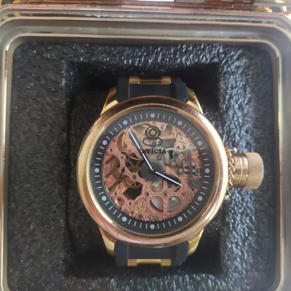 Relógio Invicta Russian Esqueleto Edição Limitada Original