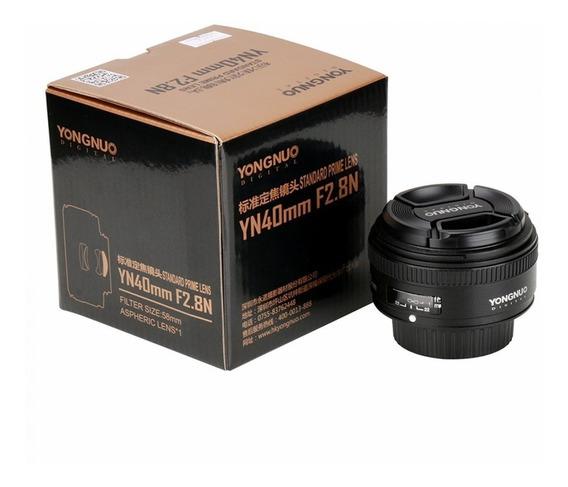 Lente Yongnuo 40mm F/2.8 Para Nikon
