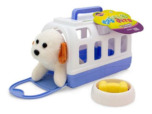Imagem 1 de 2 de Kit Casinha Meu Pet - Branco - Playfull Pets -toyng