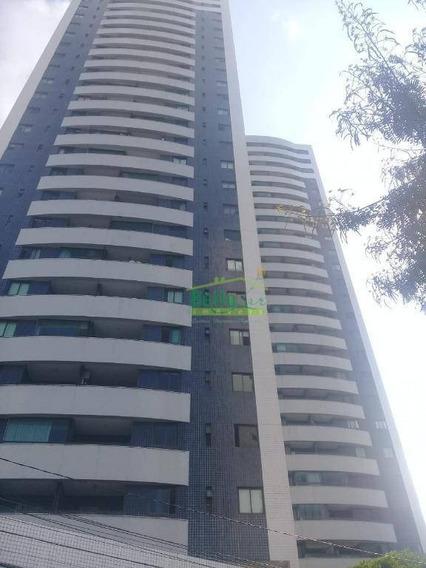 Apartamento Com 3 Dormitórios Para Alugar, 115 M² Por R$ 2.500/mês - Rosarinho - Recife/pe - Ap3192