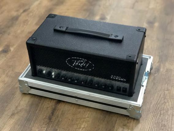 Peavey 6505 Mh Mini Evh + Foot Original + Case Estado De Zero Pouquissimo Uso 12 X Sem Juros + Frete Gratis Não Troco