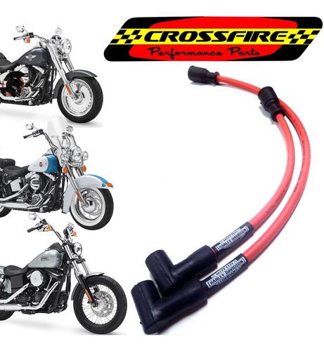 Cabos Vela Ignição Harley Davidson Softail Dyna Todas 10mm