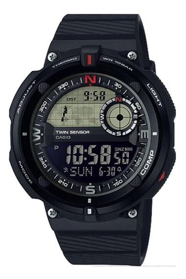 Reloj Casio Hombre Sgw-600h Brújula Termometro  watchito 