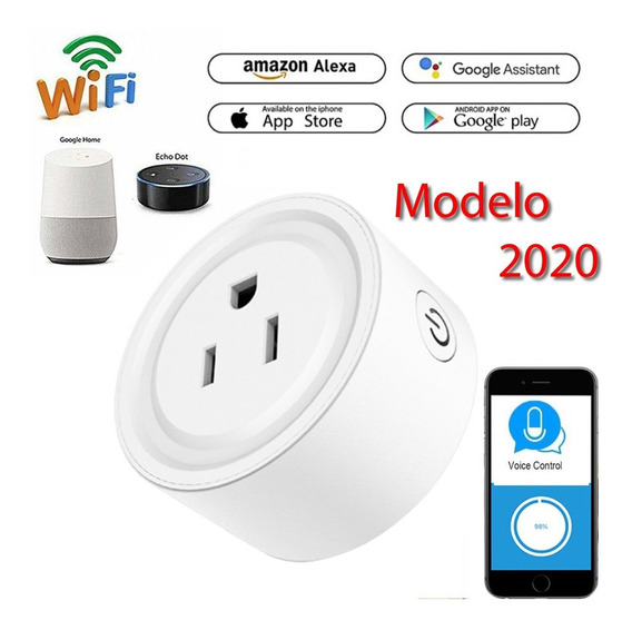 Enchufe Inteligente Wifi Smart Plug Google Home Alexa 2020