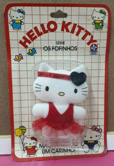 Hello Kitty - Anos 80 - Colecionável - Vermelho - Estrela