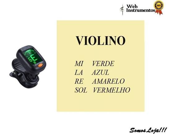 Afinador Clip + Encordoamento Mauro Calixto