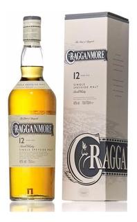 Whisky Cragganmore 12 Años Single Malt Con Estuche Escoces