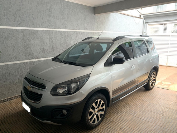 Chevrolet Spin Active 1.8 At Flex Prata 5 Lugares