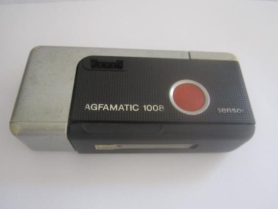 Câmera Fotografica Antiga Agfamatic 1008