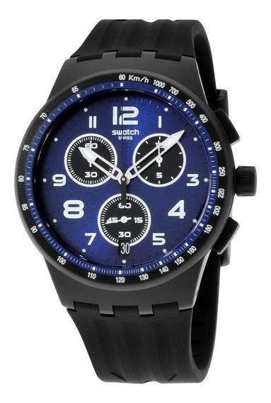 Relógio Masculino Swatch Susb402 Pulseira De Silicone