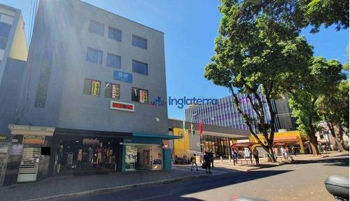 Sala Para Alugar, 100 M² Por R$ 2.000,00/mês - Centro - Londrina/pr - Sa0106