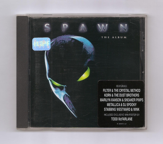 Spawn Korn Metallica Prodigy Slayer Banda Sonora Cd Usa Pro