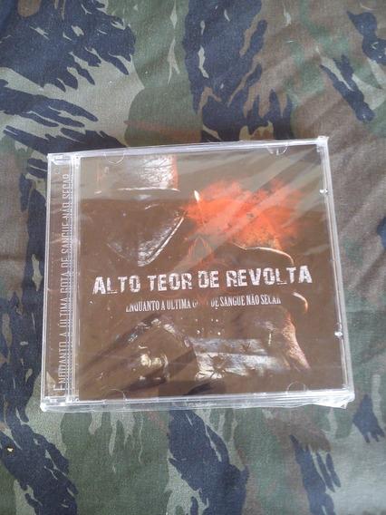 Alto Teor De Revolta - Enquanto A Ultima Gota... Cd (novo)