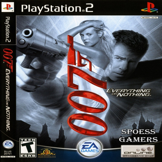 007 Everything Or Nothing James Bond Ps2 Desbloqueado Patch