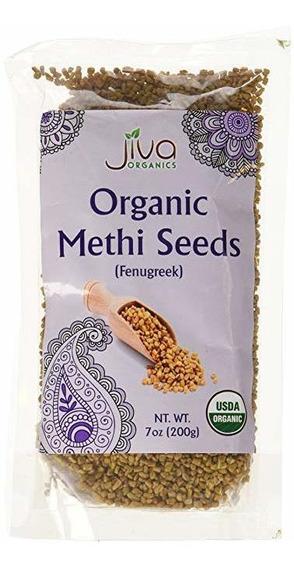 Las Semillas De Fenogreco Jiva Usda Organic Whole Methi 7 On