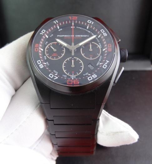 Relógio Porsche Design P6620 Marron - Top