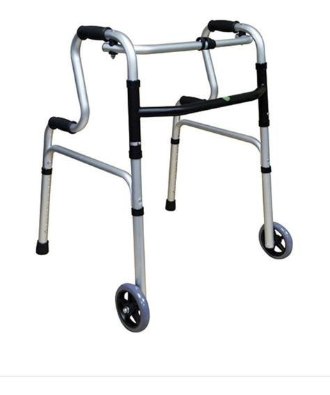 Andadera Ortopédica De Aluminio Con Rueda Envio Gratis