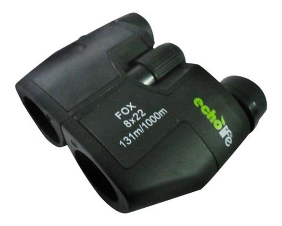 Binóculo 8x22mm Fox - Echolife - Emborrachado Compacto