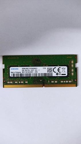 Memória Ddr4 Samsung 8gb 1rx8 Pc4 2400t Sa1 11