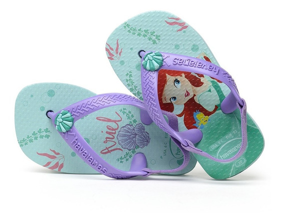 Havaianas - Chinelo Unissex Baby Disney Princess
