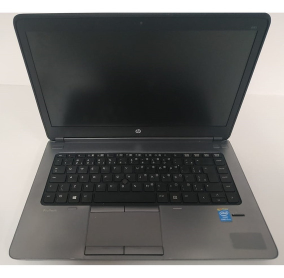 Notebook Hp Probook 640 G1- Intel Core I7 4600m - 4gb De Memória - Hd 500gb