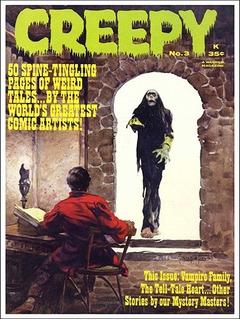 Pôster Cinema Filme Terror Horror Artes Revista Creepy # 03