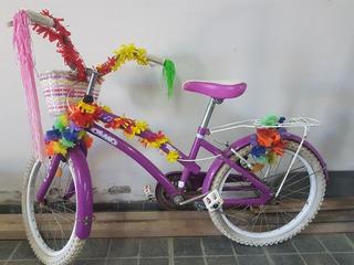 Vendo Bicicleta Niña Usada Poco Uso!!!