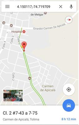 Vendemos Lote Vía Melgar - Carmen De Apicalá
